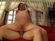 Pregnant cutie fucks in every poses